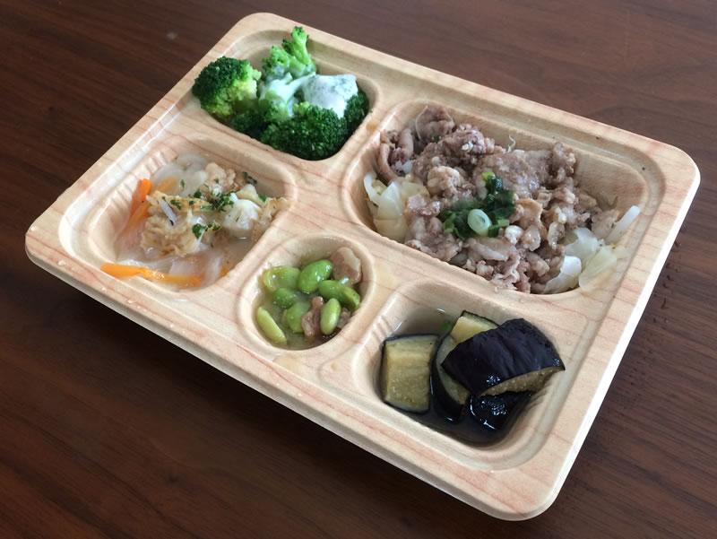 【食卓便の評判/口コミ】牛肉好きな僕も納得した牛しゃぶと帆立のオリーブオイル仕立て