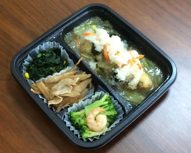 【ナッシュの評判/口コミ】白身魚の南蛮おろし煮は白だしベースのサッパリ味