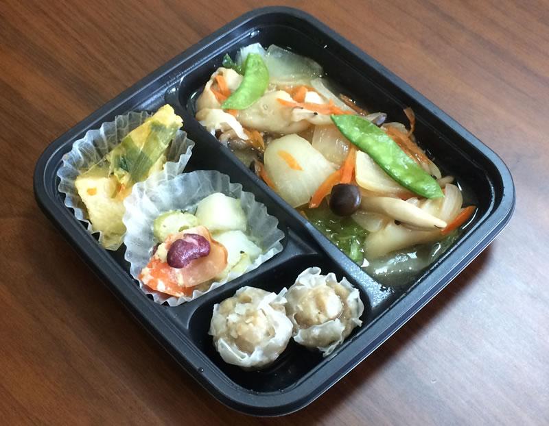 【ナッシュの評判/口コミ】八宝菜でも中華じゃない不思議な弁当です。