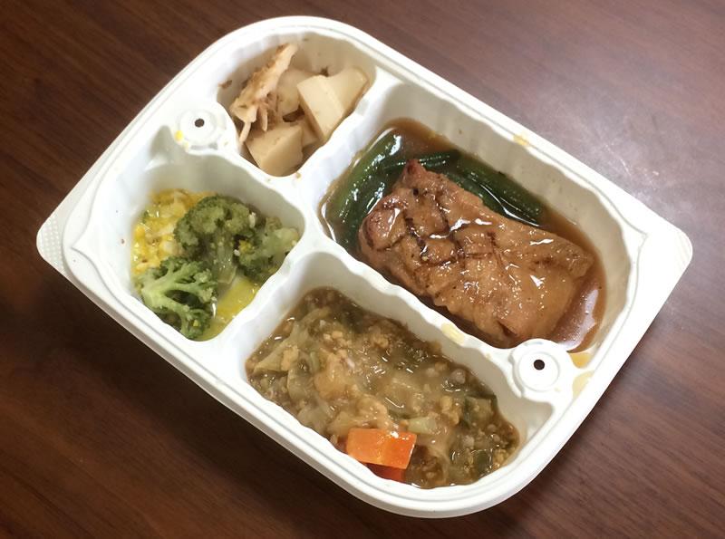 【ウェルネスダイニングの評判/口コミ】炭火焼チキン(醤油ソース)弁当は鶏肉好きにはたまらない!