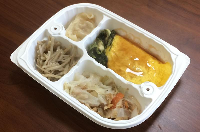 【ウェルネスダイニングの評判/口コミ】あんかけ中華オムレツ弁当は天津丼みたいでご飯がすすんでしまう!