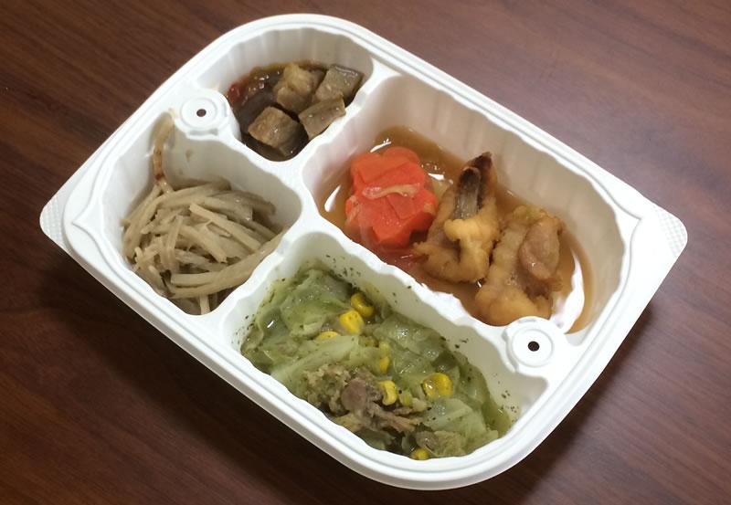 【ウェルネスダイニングの評判/口コミ】はじめて食べる高級魚あんこうの生姜炒め弁当