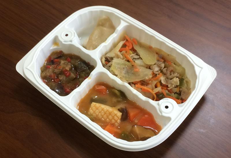 【ウェルネスダイニングの評判/口コミ】豚肉と玉葱の味噌炒め弁当は期待以上の中華料理が味わえた!