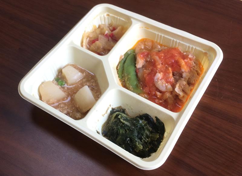 【彩ダイニングの評判/口コミ】安定した美味しさの豚肉のトマトソース