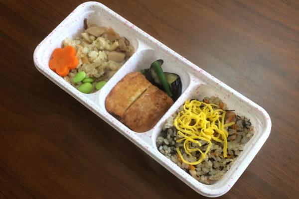 【ニチレイフーズの評判/口コミ】和ごはん豆腐のひき肉包みは2種類のご飯が味わえる